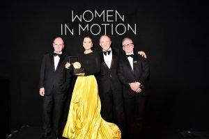 Известные киноактрисы, удостоенные премии Women In Motion